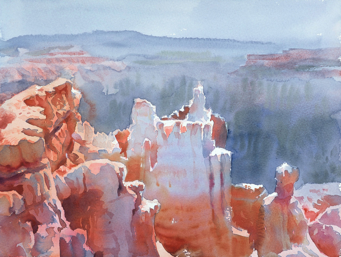 Castles in the air, Bryce Canyon