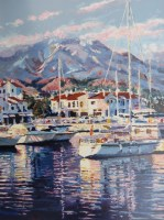 Marina III  30 x 22 inches