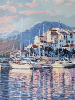 Marina IV  30 x 22 inches