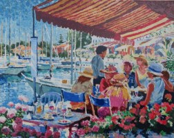 Waterfront IV 23 x 29 inches
