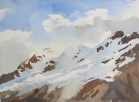 available Columbia Icefield II 10 x 12 inches watercolour
