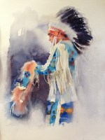 chief tain watercolour