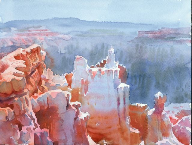 Castles in the sky, Bryce Canyon