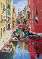 Acqua Venezia IV  22 x 17 inches